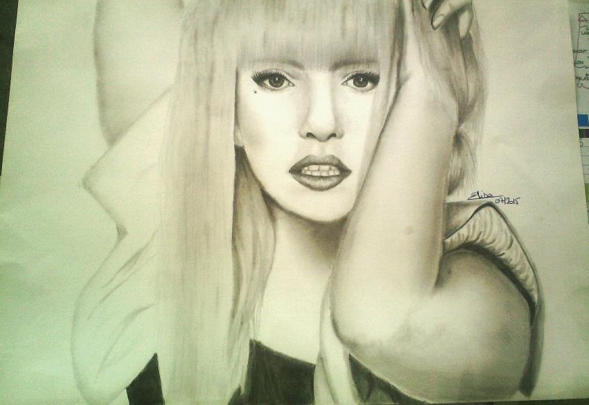 Lady Gaga por lusitana40